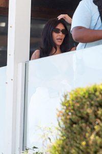 Kim Kardashian Seems Stressed Filming 'KUWTK' After Kanye's Comments