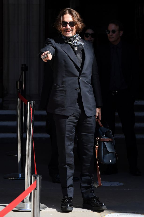 Johnny Depp's vicious names for A-list stars he charged Amber of disloyalty with