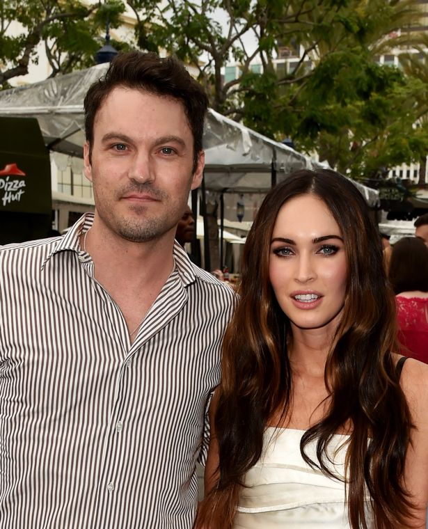 Megan and Brian have vowed to remain close