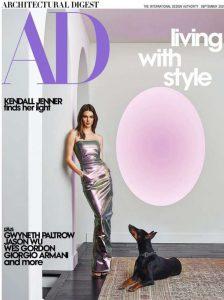 Inside Kendall Jenner's elegant Los Angeles estate presenting her Vogue publication covers