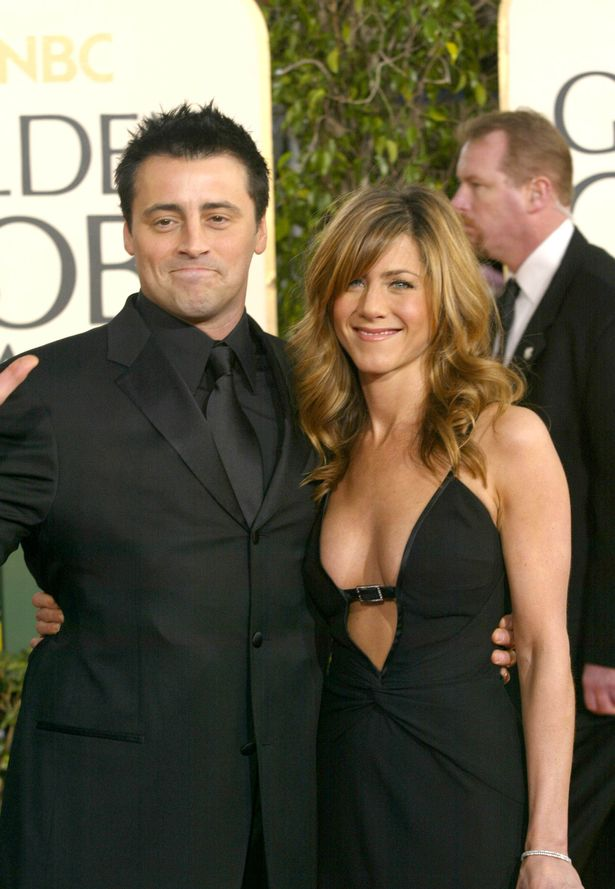 Matt LeBlanc's dad claimed his son had boasted about 'snogging' Jennifer Aniston - claims both deny