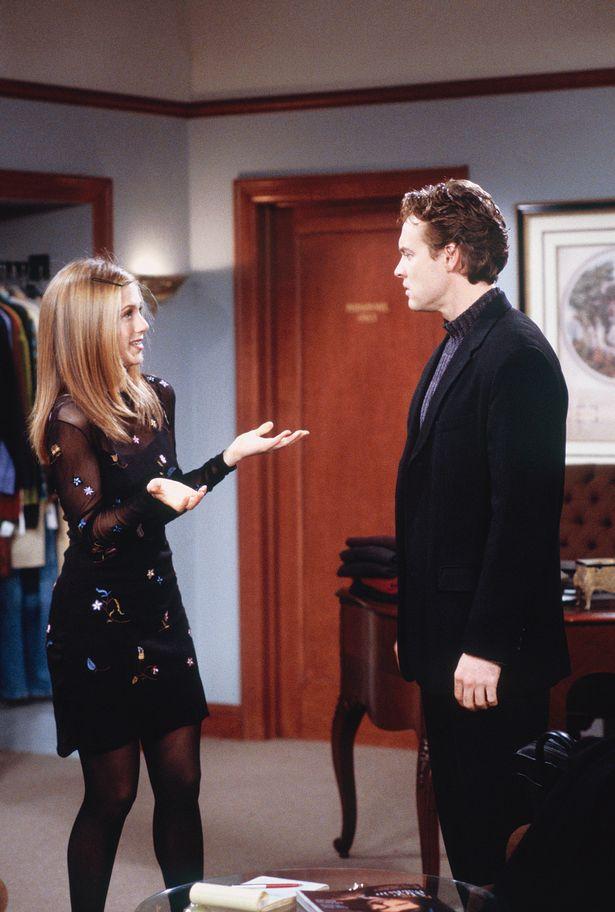 Jen was splitting from Tate when he first appeared on Friends as Rachel's love interest Josh