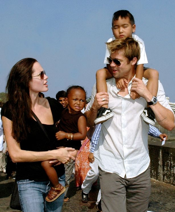 Brad bonded with Angelina's son Maddox and later adopted him