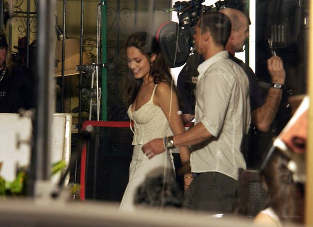 Brad Pitt and Angelina Jolie shared an obvious chemistry on the set of Mr and Mrs Smith