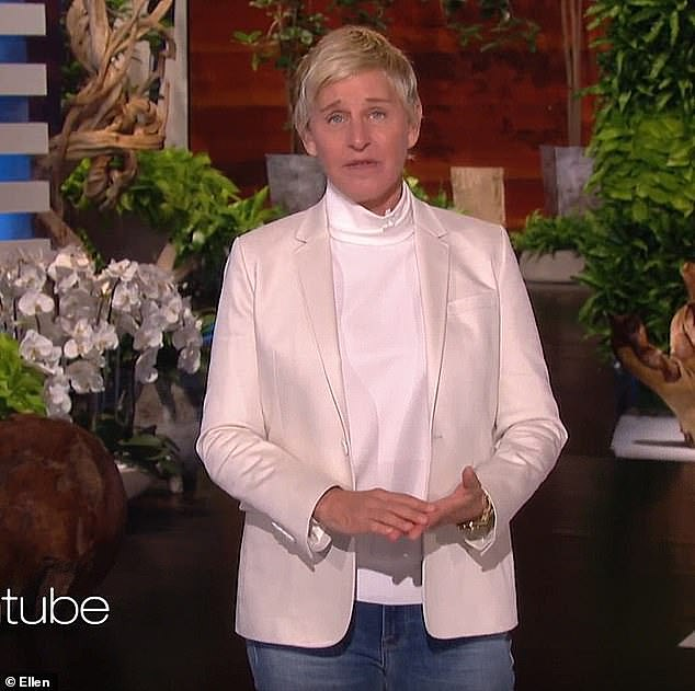 Signature look: DeGeneres typically rocks a pixie cut