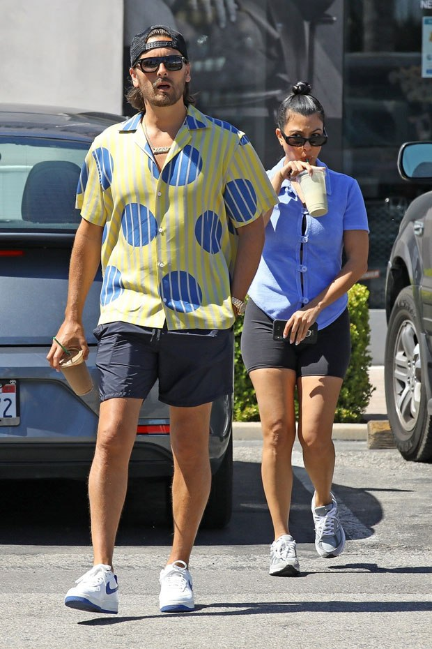 Scott Disick Playfully Mocks Kourtney Kardashian In Remark